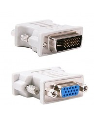 POWERTECH Adapter VGA 15pin female σε DVI-I 24+5 pin male