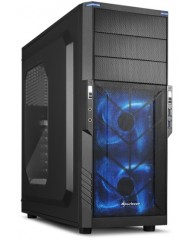 SHARKOON PC CHASSIS T3-W BLUE