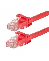 Powertech UTP CAT5E, CCA, RED, 0.50M