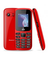 POWERTECH PTM-06, Dual Sim, Multimedia, με φακό, κόκκινο