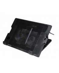 "Laptop Cooler N182 17"" 2 x Fan"