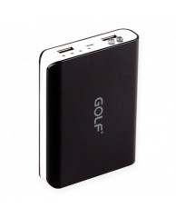 GOLF Power Bank Tiger 804 10400mAh, 2x output, Black