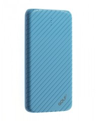 GOLF Power Bank Pineapple Series G20GB 16000mAh, 2x output, Blue