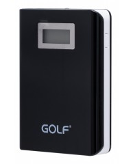 GOLF Power Bank LCD04 10400mAh, LCD Display, 2x output, Black
