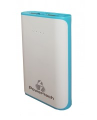 POWERTECH Power Bank 6000mAh, 2x USB, Blue