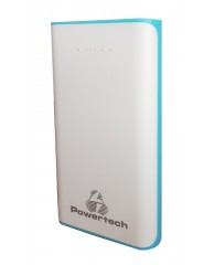 POWERTECH Power Bank 12000mAh, 2x USB,Blue