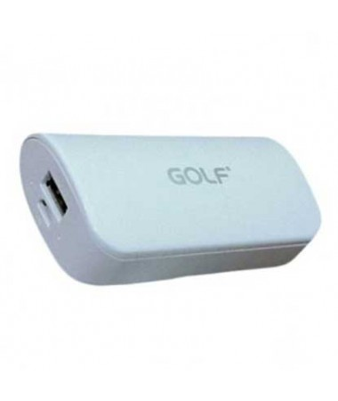 GOLF Power Bank Tiger 210 5200mAh, 1x Output, White