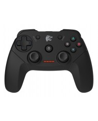 ROAR Gamepad για PC/PS2/PS3, Wireless, Vibration, 600mAh, Black