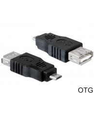 DELOCK Adapter OTG-USB Micro male to USB 2.0 F