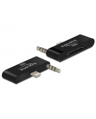 DELOCK Adapter Audio iPhone,30-pin to 8-pin