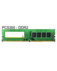 MAJOR Μεταχειρισμένη RAM U-Dimm (Desktop) DDR2, 2GB PC5300 667MHz