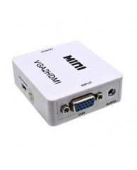 Power Plus Αντάπτορας PS-M600 VGA (Θ) σε HDMI(Θ) με ήχο