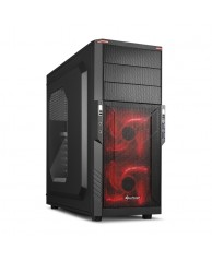 SHARKOON PC CHASSIS T3-W RED