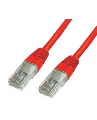 Powertech UTP Cat 6e - RED - 2M