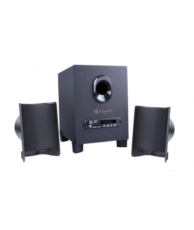 KISONLI Multimedia ηχεία ΤM-6000U, 2.1ch, Bluetooth, 5W & 2x 3W
