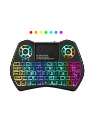Andowl Ασύρματο RGB Mini Keyboard-Touchpad