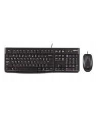 LOGITECH MK120 Ενσύρματο Πληκτρολόγιο/Ποντίκι