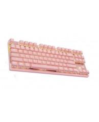 MOTOSPEED GK82 RGB Μηχανικό Gaming Wired/Wireless Πληκτρολόγιο Pink